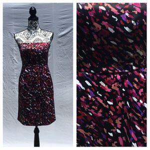 Apt 9 Strapless Confetti Print Dress